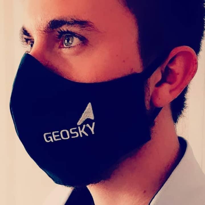 Máscaras Personalizadas Com Bordado