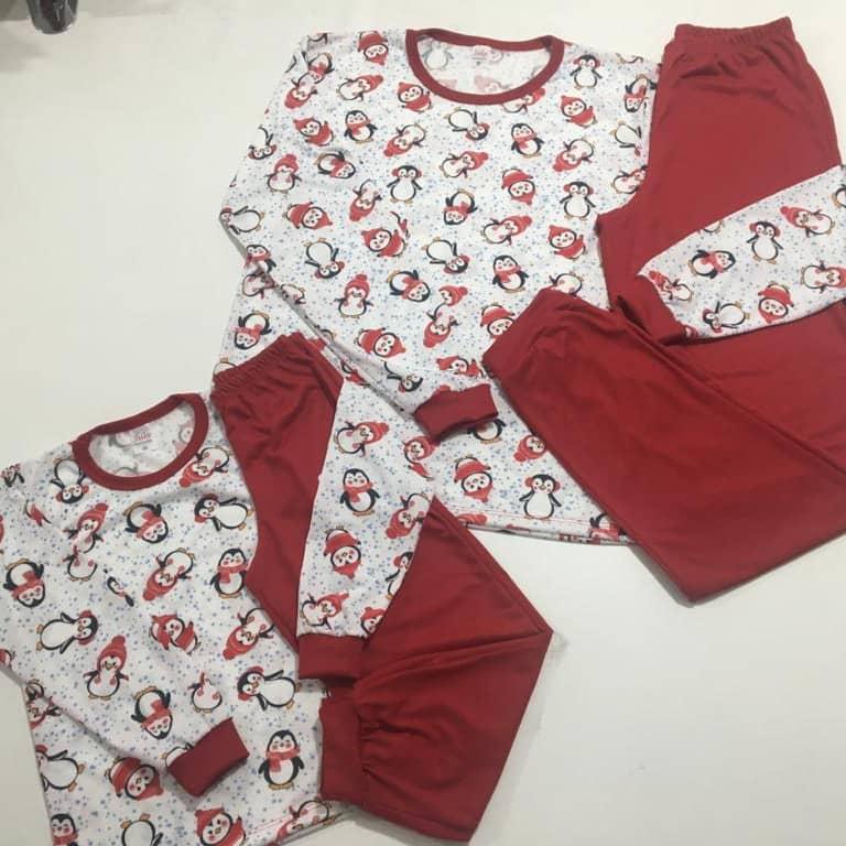 Pijama Mãe e Filha